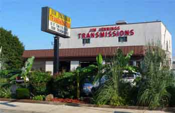 Picture of the Essex shop of Jim Jennings Transmissions